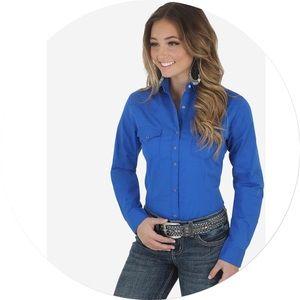 3/$50 Wrangler One Point Front & Back Yokes Shirt